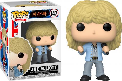 DEF LEPPARD - Bobble Head POP N° 147 - Joe Elliott - 9cm