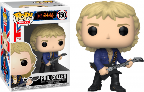 DEF LEPPARD - Bobble Head POP N° 150 - Phil Collen - 9cm