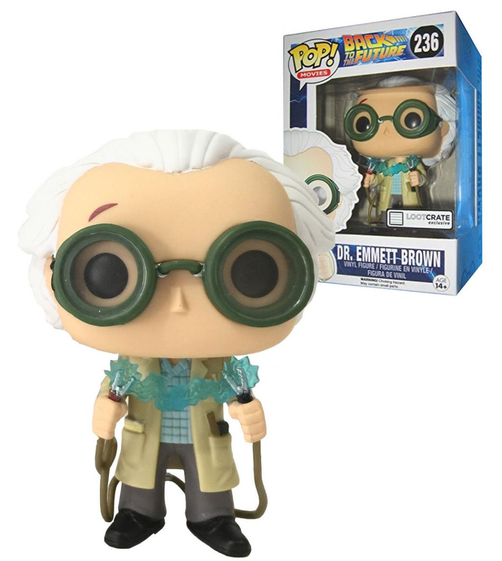 BACK TO THE FUTURE - Bobble Head POP N° 236 - Doc Brown Limited