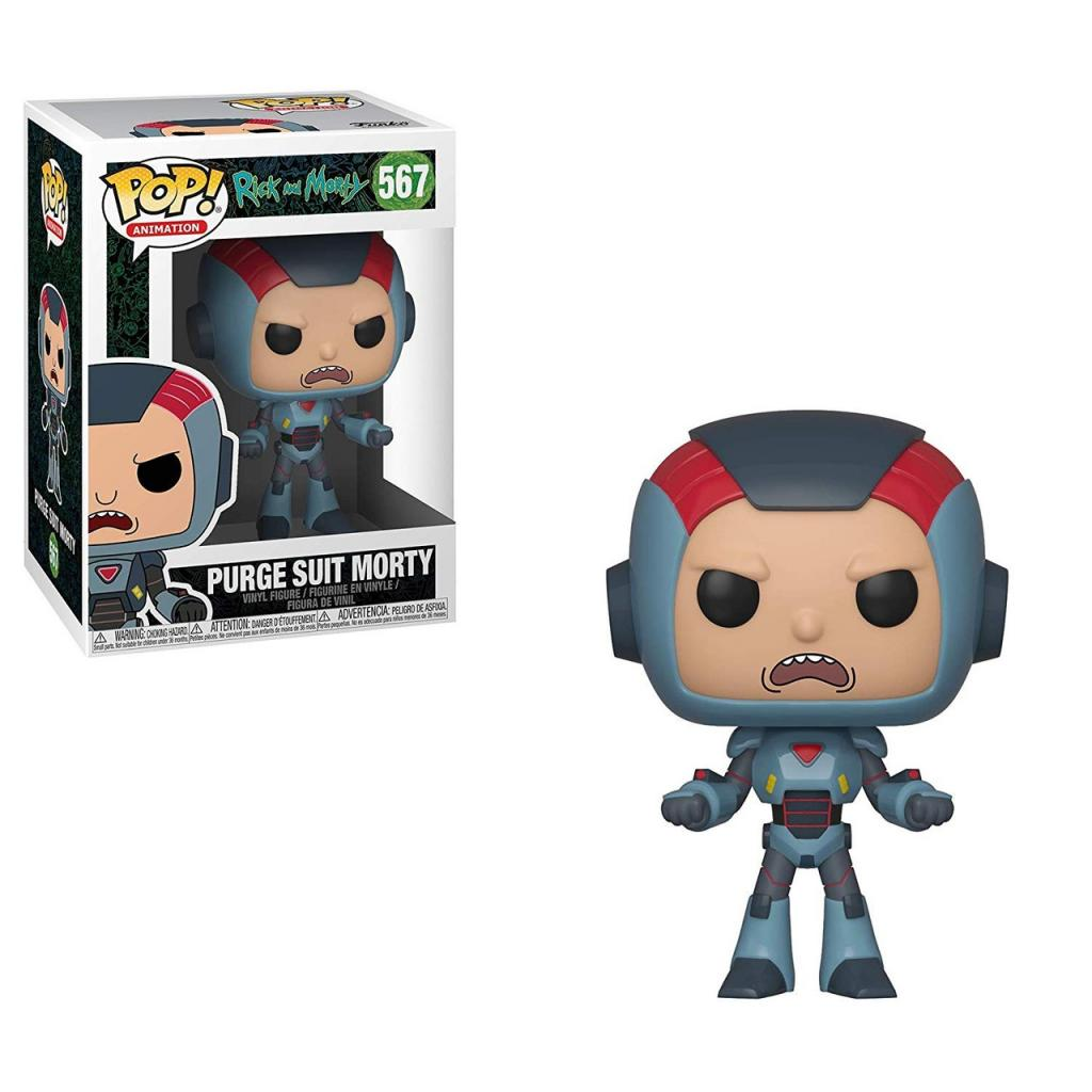 RICK & MORTY - Bobble Head POP N° xxx - Morty in Mech Suit