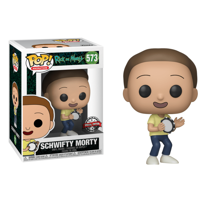 RICK & MORTY - Bobble Head POP N° 573 - Schwifty Morty SE_1