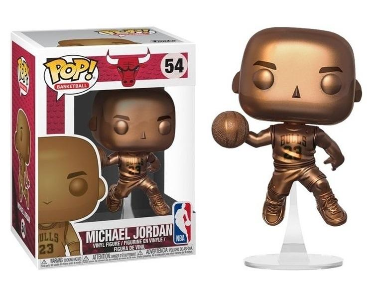 NBA - Bobble Head POP N° 054 - Michael Jordan Bronze Special Edition