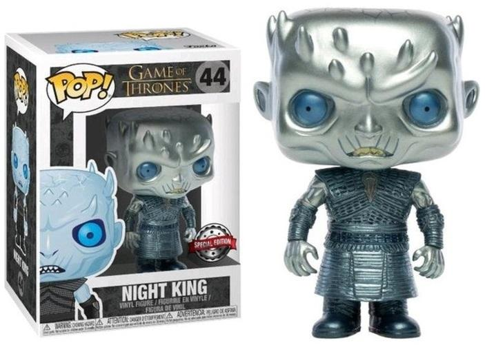 GAMES OF THRONES - Bobble Head POP N° 044 - Night King Metallic SE
