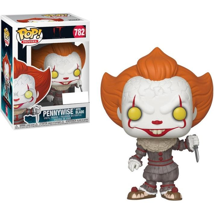 IT Chapter 2 - Bobble Head POP N° 782 - Pennywise with Blade