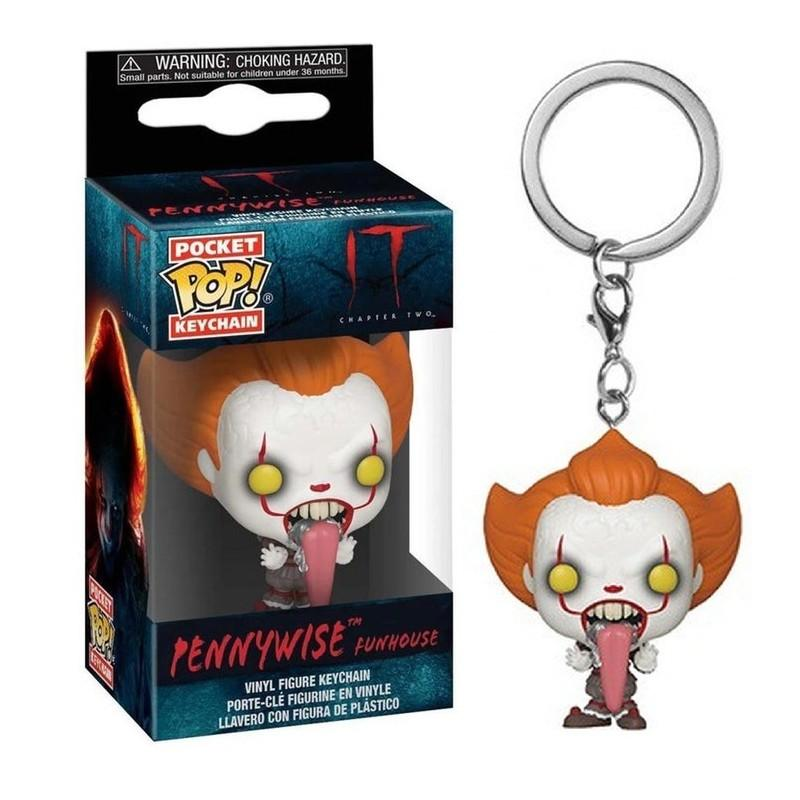 Pocket Pop Keychains : IT Chaper 2 - Pennywise with Dog Tongue