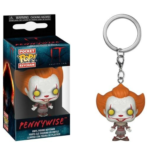Pocket Pop Keychains : IT Chaper 2 - Pennywise with Open Arms