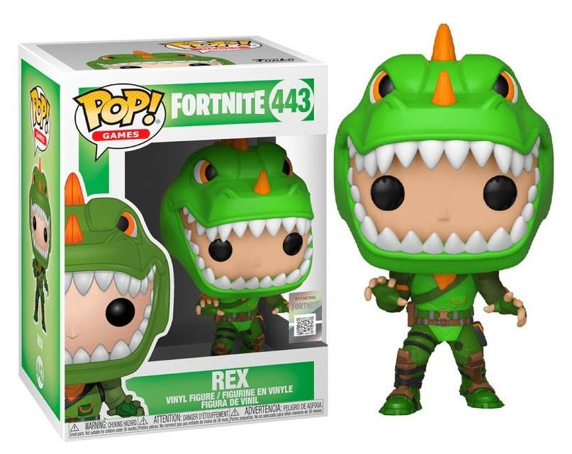 FORTNITE - Bobble Head POP N° 443 - Rex GITD Special Edition_1