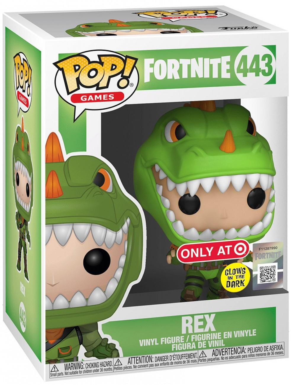 FORTNITE - Bobble Head POP N° 443 - Rex GITD Special Edition_2