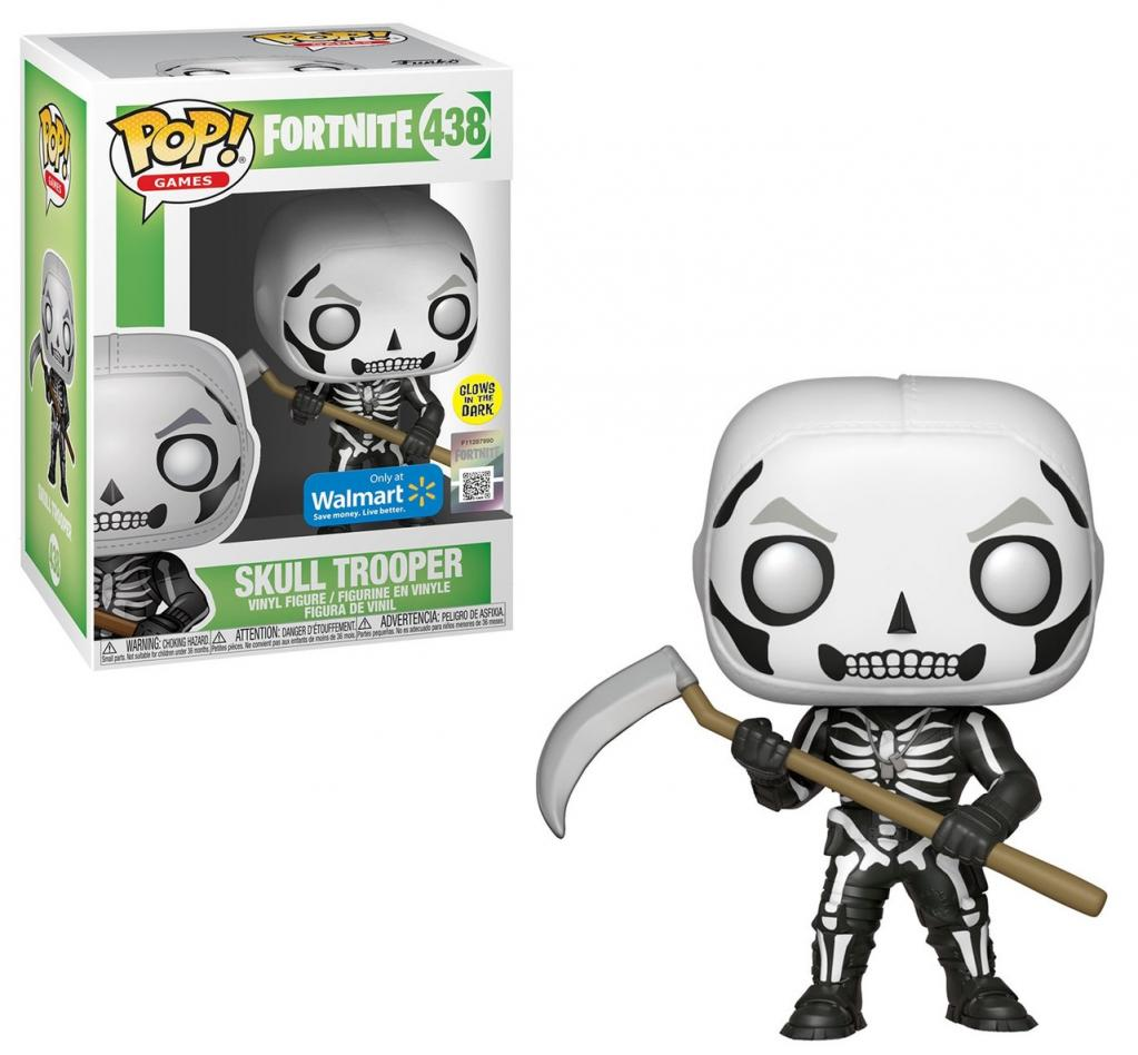 FORTNITE - Bobble Head POP N° 438 - Skull Trooper GITD Special Edition