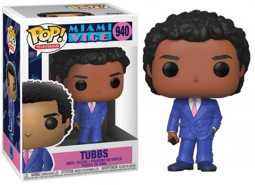 TV - Bobble Head POP N° 940 - Miami Vice S2 - Tubbs