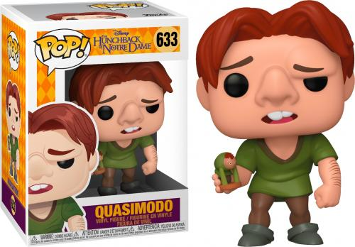 DISNEY - Hunchback - Bobble Head POP N° 633 - Quasimodo - 9cm