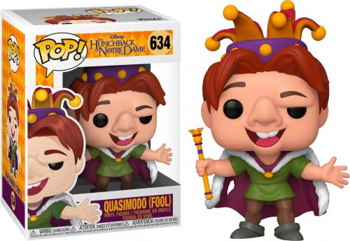 DISNEY - Hunchback - Bobble Head POP N° 634 - Quasimodo - Fool - 9cm