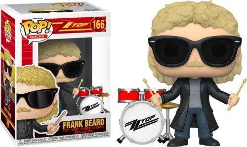 ZZ TOP - Bobble Head POP N° 166 - Frank Beard