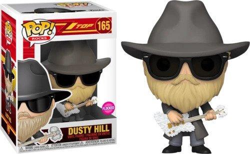 ZZ TOP - Bobble Head POP N° 165 - Dusty Hill