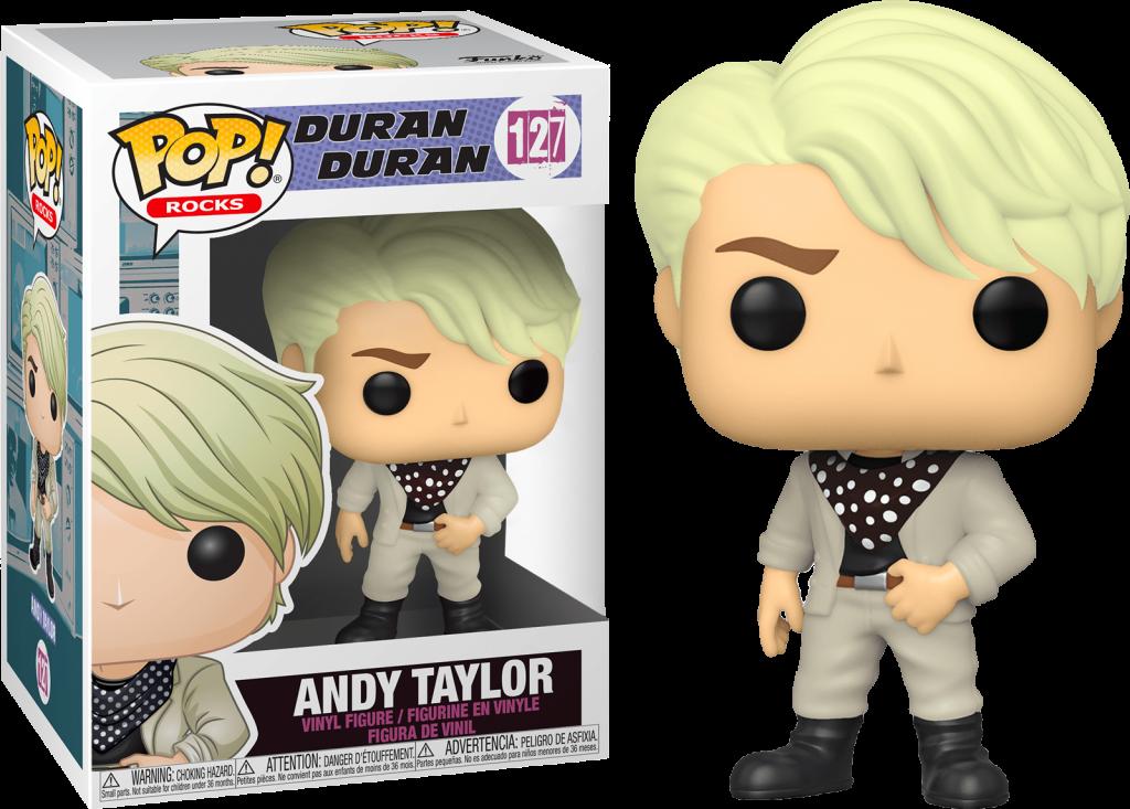 DURAN DURAN - Bobble Head POP N° 127 - Andy Taylor