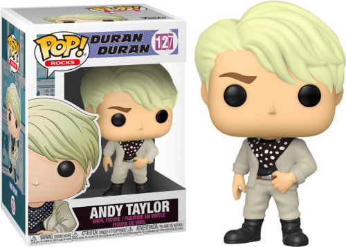 DURAN DURAN - Bobble Head POP N° 127 - Andy Taylor