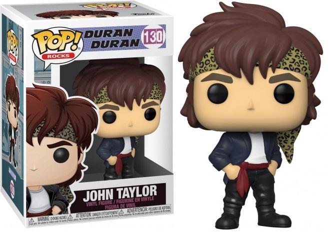 DURAN DURAN - Bobble Head POP N° 130 - John Taylor