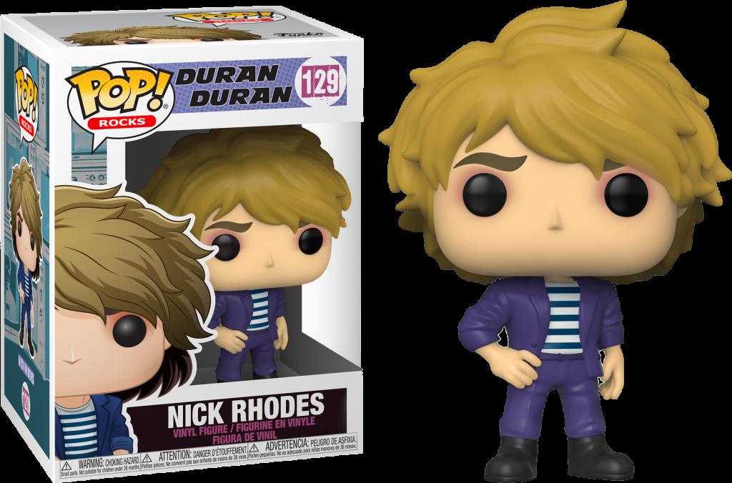 DURAN DURAN - Bobble Head POP N° 129 - Nick Rhodes