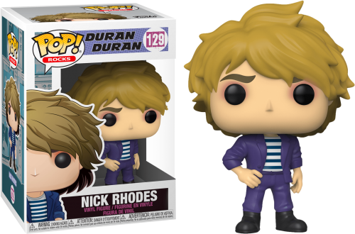 DURAN DURAN - Bobble Head POP N° 129 - Nick Rhodes