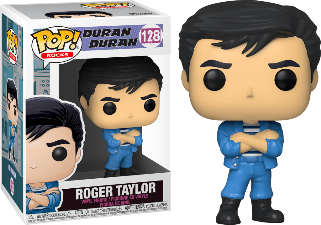 DURAN DURAN - Bobble Head POP N° 128 - Roger Taylor