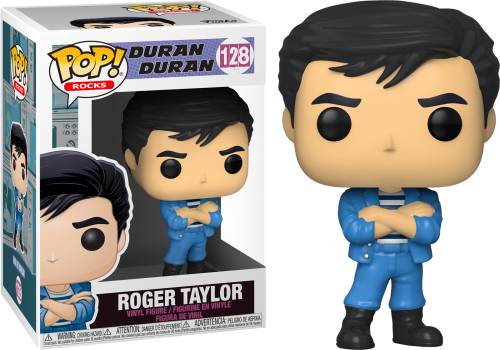 DURAN DURAN - Bobble Head POP N° 128 - Roger Taylor