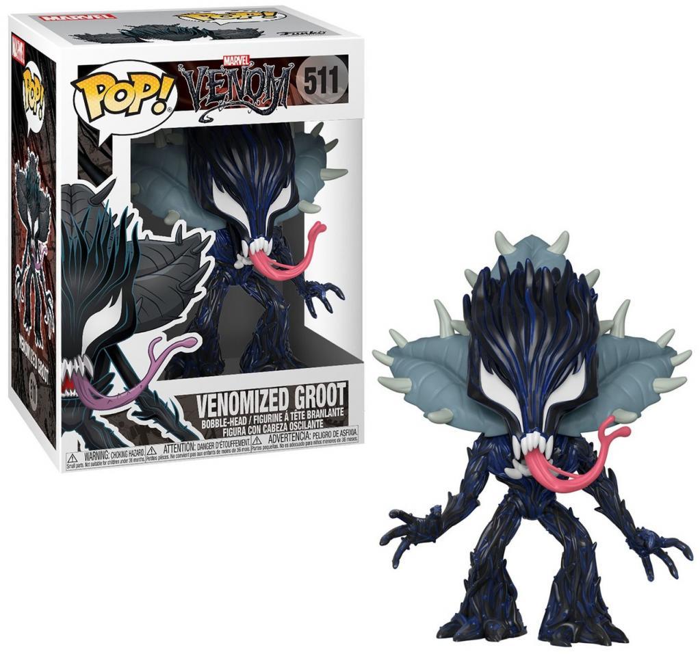 MARVEL - Bobble Head POP N° 511 - Venom S2 : Groot