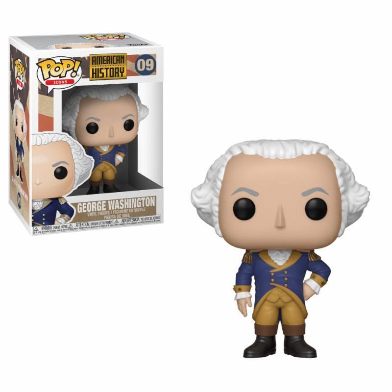 AMERICAN HISTORY - Bobble Head POP N° 09 - George Washington
