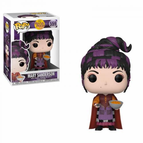 DISNEY - Hocus Pocus - Bobble Head POP N° 559 - Mary with Cheese Puffs
