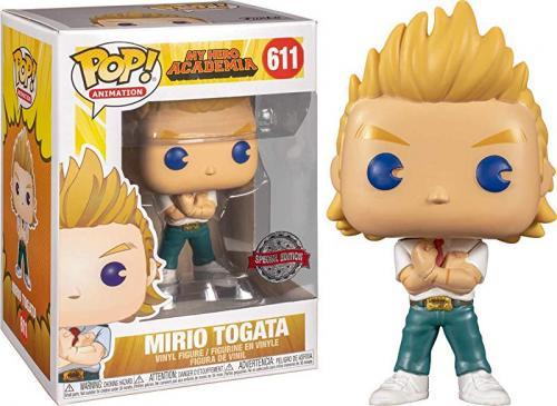 MY HERO ACADEMIA - Bobble Head POP N° 611 - Mirio Togata Sp. Edition