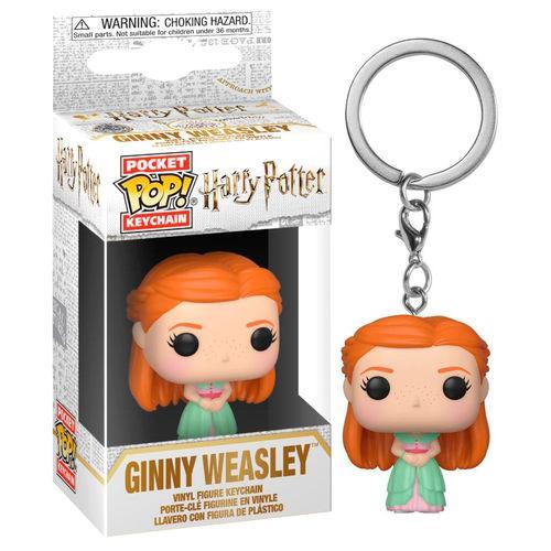 Pocket Pop Keychains : HARRY POTTER - S7 - Ginny 'Yule'