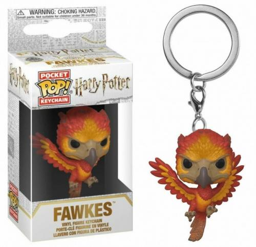 Pocket Pop Keychains : HARRY POTTER - S7 - Fawkes
