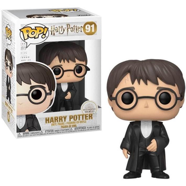 HARRY POTTER - Bobble Head POP N° 91 - S7 - Harry Potter 'Yule'