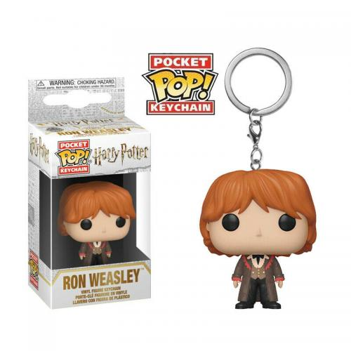 Pocket Pop Keychains : HARRY POTTER - S7 - Ron 'Yule'