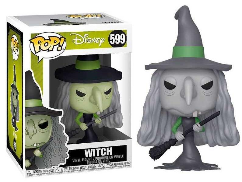 NIGHTMARE BEFORE CHRISTMAS - Bobble Head POP N° xxx - Witch