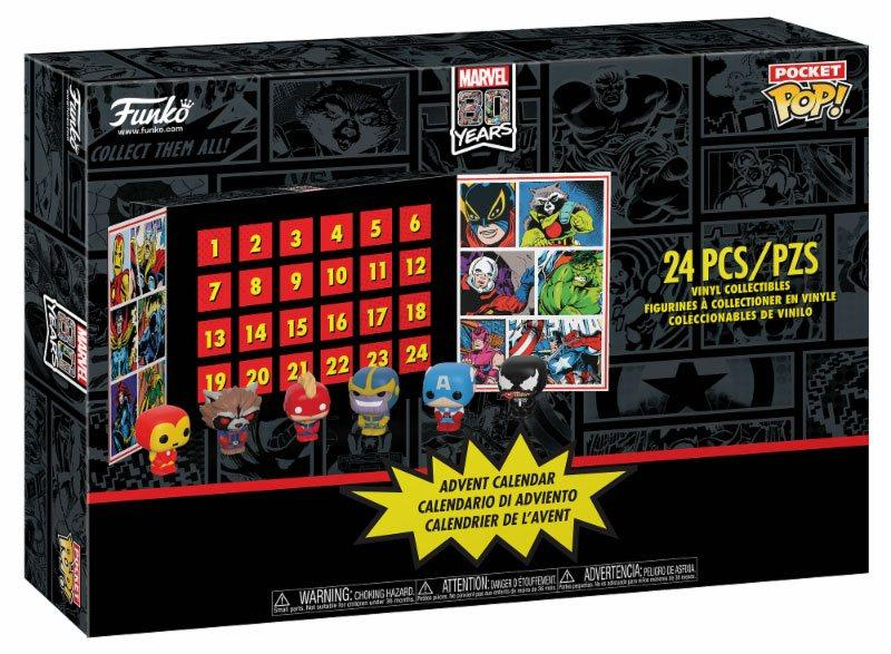 MARVEL - Pocket Pop - Calendrier de l'avent 2019 - 24 figurines