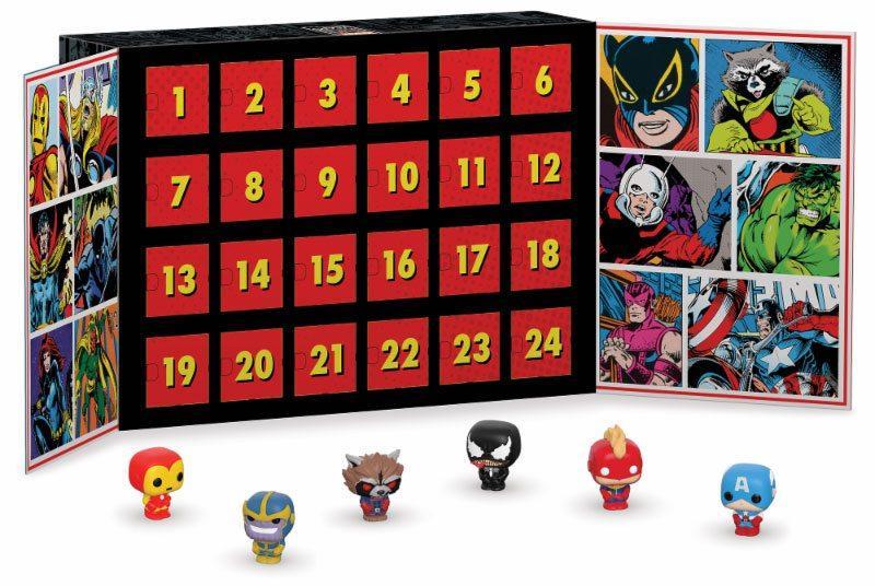 MARVEL - Pocket Pop - Calendrier de l'avent Marvel 80 - 24 figurines_2