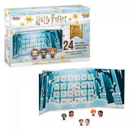 HARRY POTTER - Pocket Pop - Calendrier de l'avent 2019 - 24 figurines