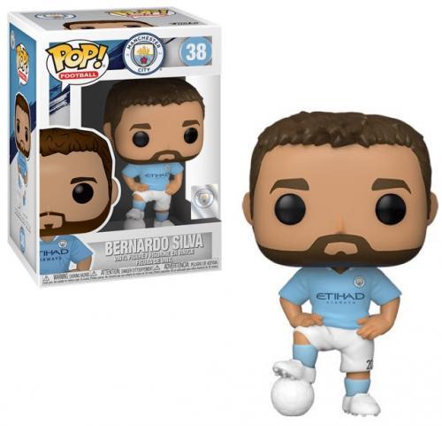 FOOTBALL - Bobble Head POP N° 38 - Manchester City - Bernardo Silva