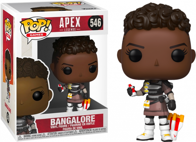 GAMES - Bobble Head POP N° 546 - Apex Legends - Bangalore
