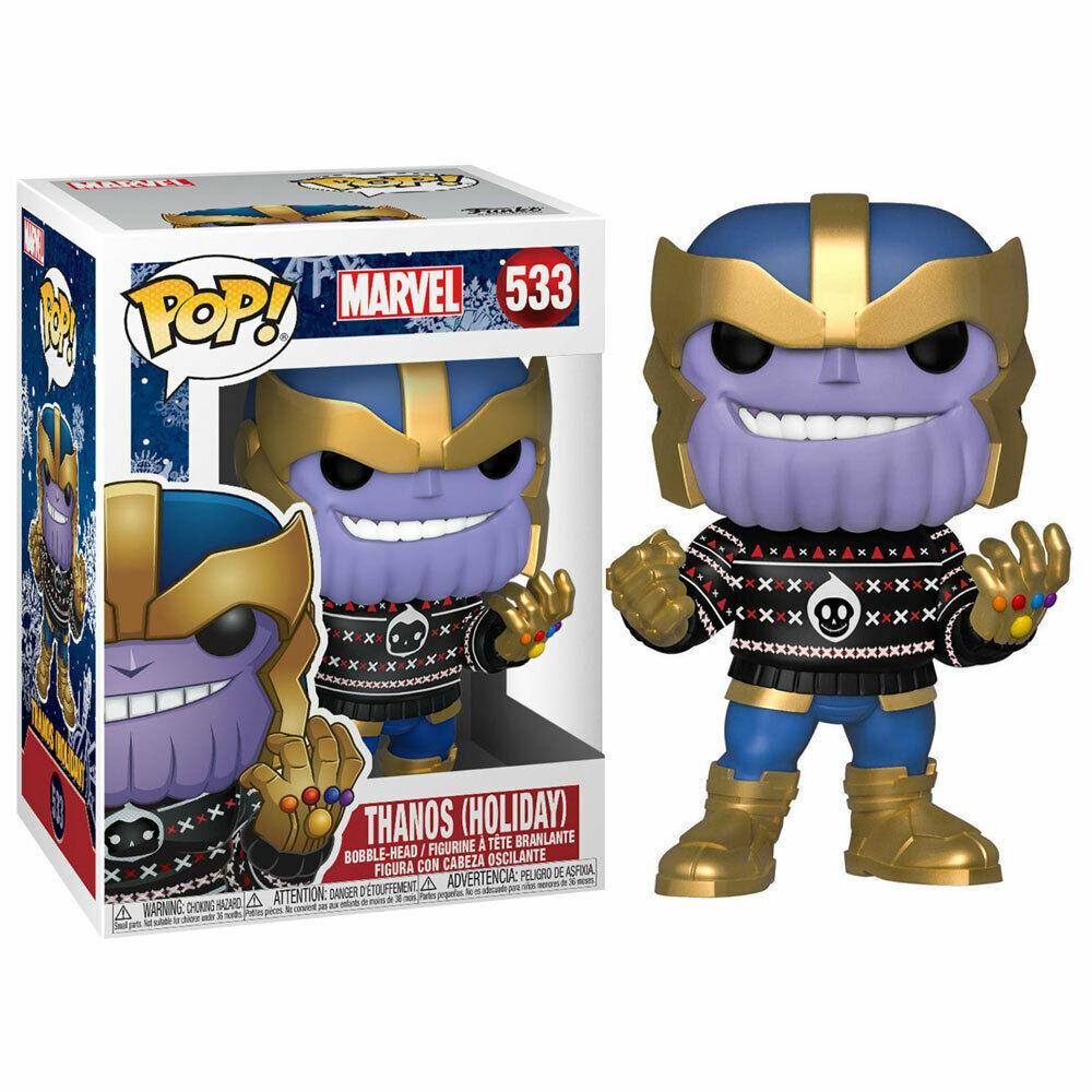 MARVEL- Bobble Head POP N° 533 - Holiday - Thanos