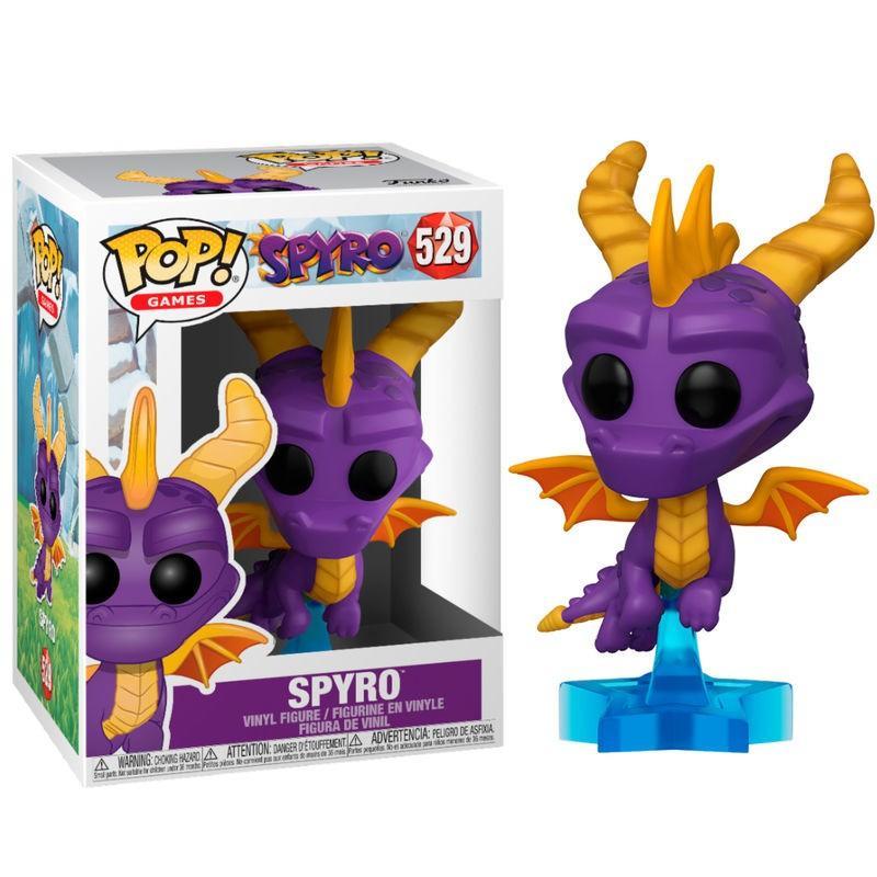 GAMES - Bobble Head POP N° 529 - Spyro - Spyro_1