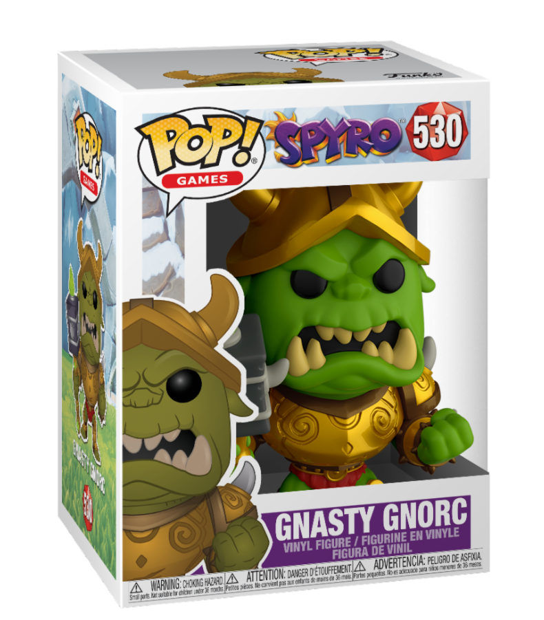 GAMES - Bobble Head POP N° 530 - Spyro - Gnorc_2