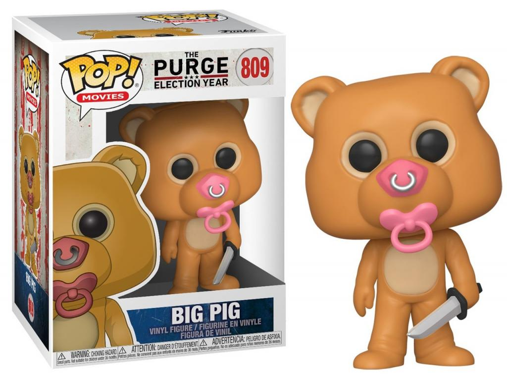 THE PURGE - Bobble Head POP N° 809 - Big Pig