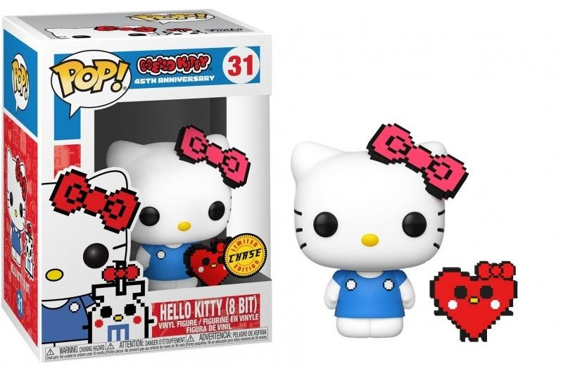 HELLO KITTY - Bobble Head POP N° 31 - Anniversary Hello Kitty CHASE