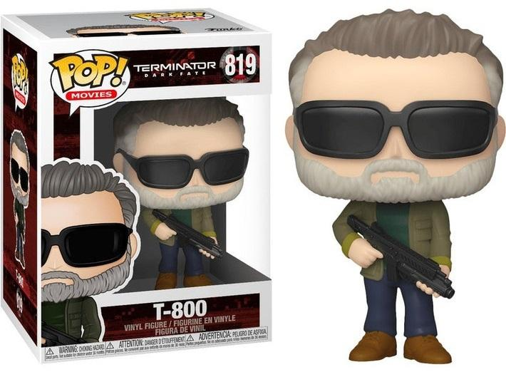 TERMINATOR - Bobble Head POP N° 819 - Dark Fate - T-800 - 9cm