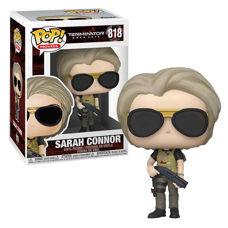 TERMINATOR - Bobble Head POP N° 818 - Dark Fate - Sarah Connor - 9cm