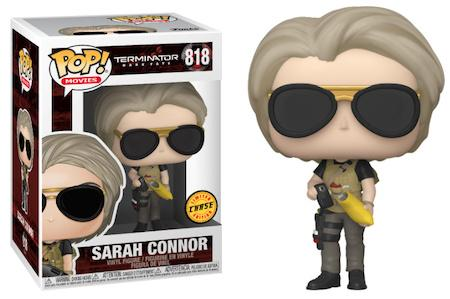 TERMINATOR - Bobble Head POP N° 818 - Dark Fate - Sarah Connor CHASE