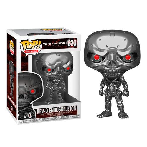 TERMINATOR - Bobble Head POP N° 820 - Dark Fate - REV-9 - 9cm