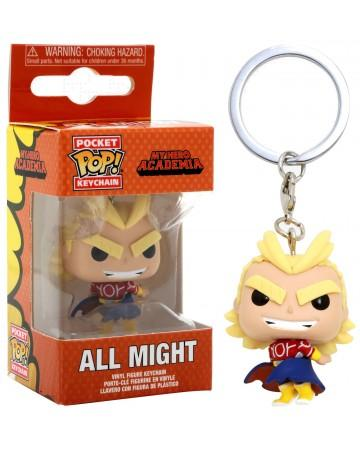 Pocket Pop Keychains : My Hero Academia - Silver Age All Might