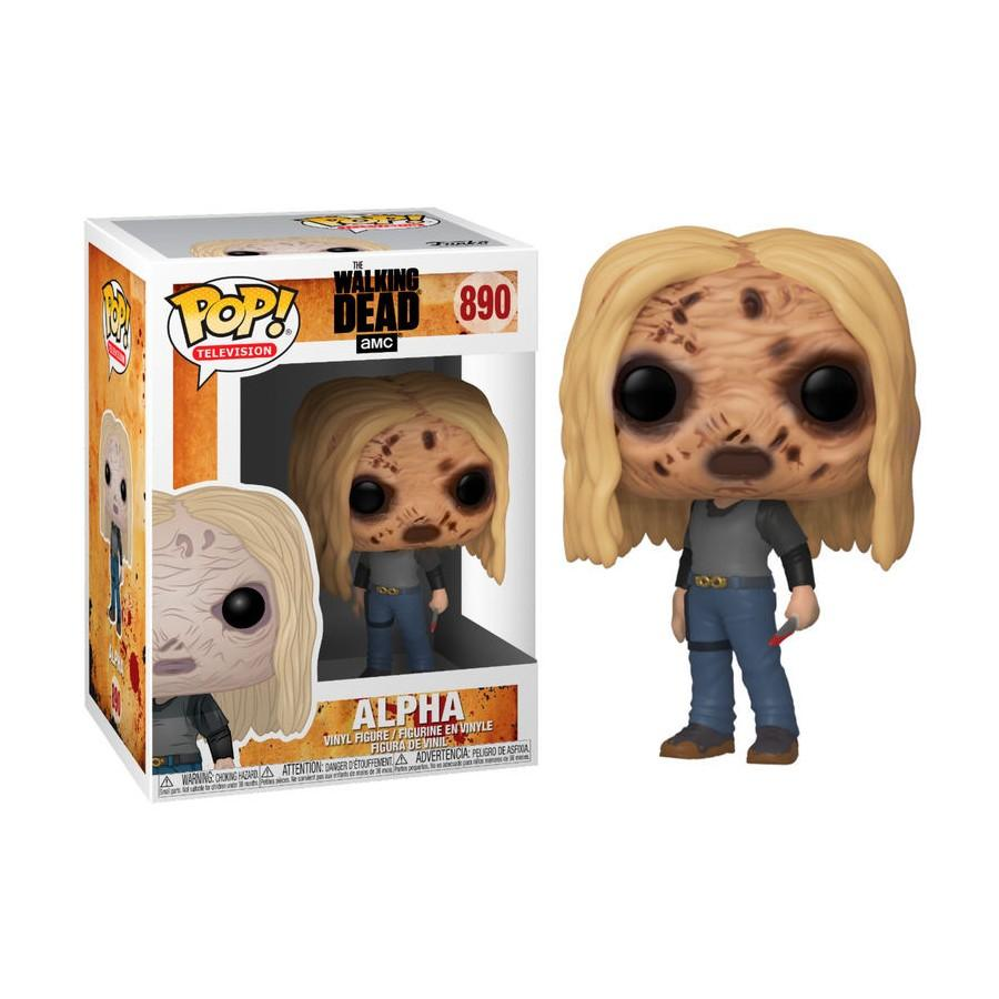 TV - Bobble Head POP N° xxx - The Walking Dead - Alpha w/ Mask